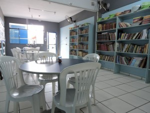 Sala de pesquisa e leitura
