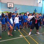 Presença do Patrick Ferreira na nossa escola