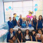 Cerimônia da Caneta para os alunos do 5°ano